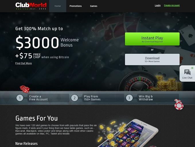 Club USA Casino New Hp