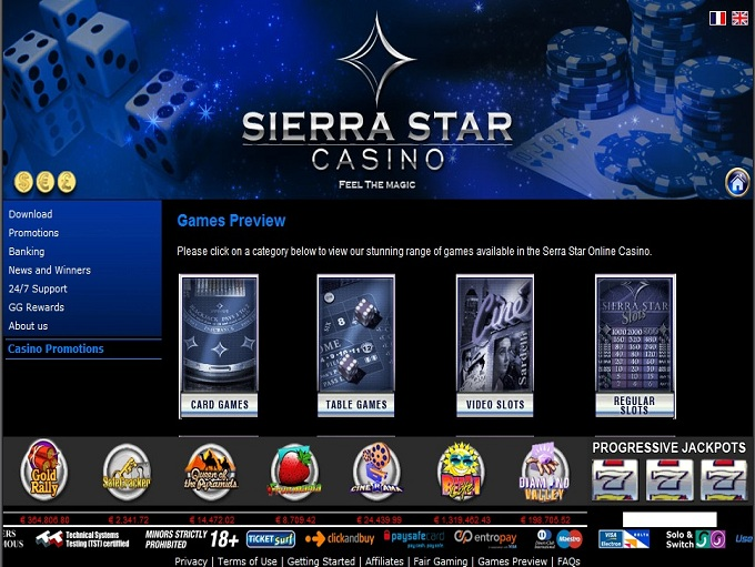 Sierra Star Casino