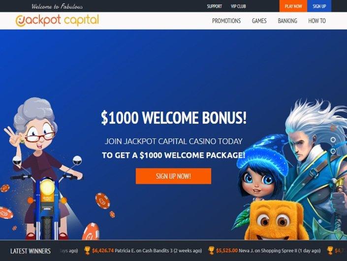 Jackpot Capital No Deposit 2021