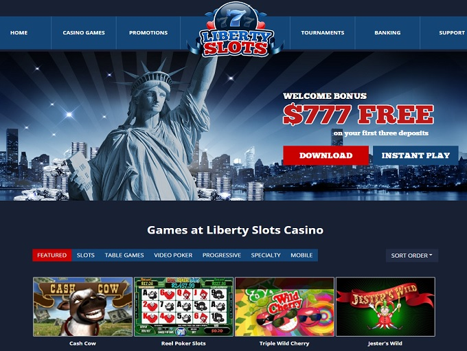 Liberty Slots Casino new hp