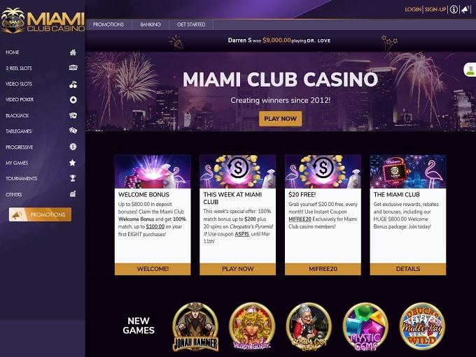 Miami Club Casino 10.03.2021. hp