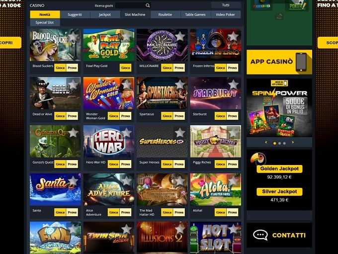 Club Casino Goldbet