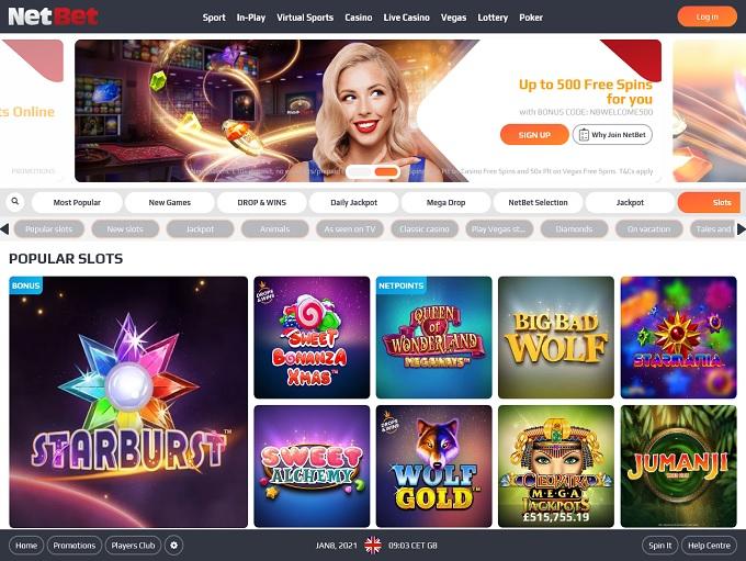 NetBet Casino 08.01.2021. hp