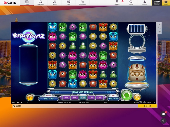 Guts Casino New Game1