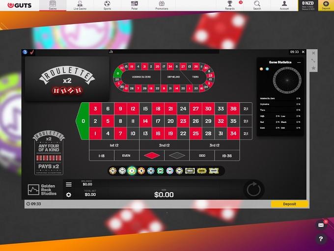 Guts Casino New Game3