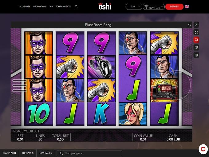 Oshi Casino 08.02.2021. Game 2