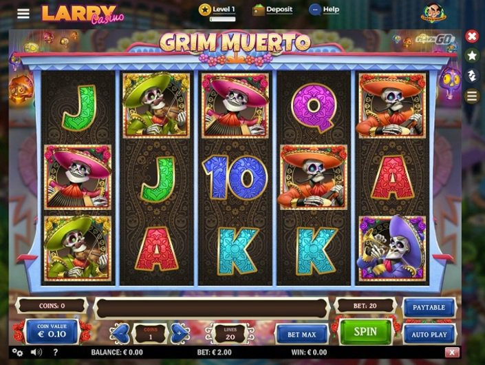 Larry casino 10 free spins