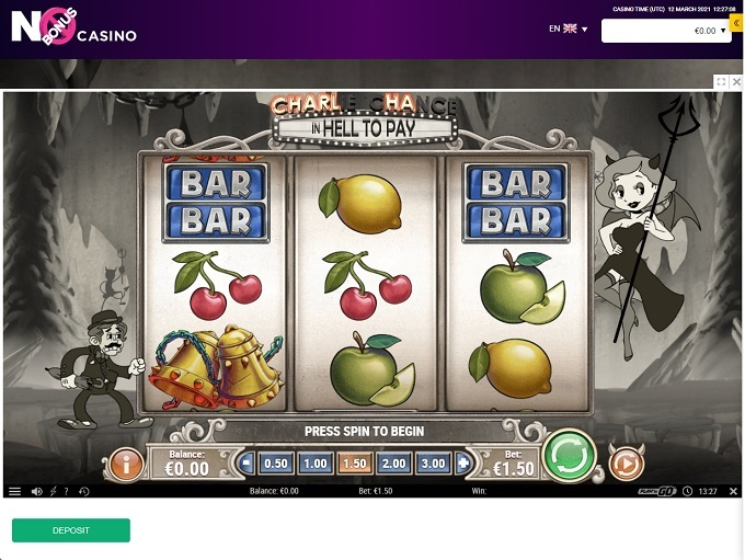 No Bonus Casino 12.03.2021. Game 1
