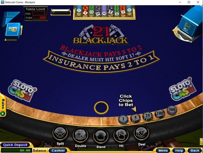 Sloto'Cash Casino New Game 3