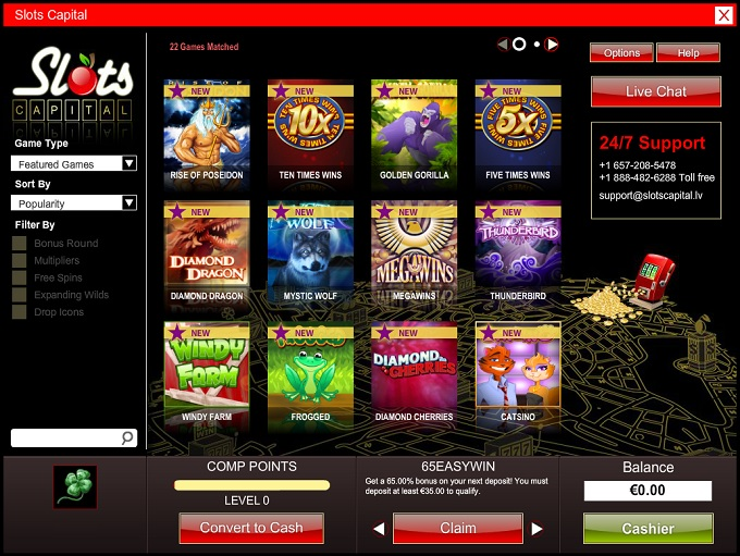 casino slot capital