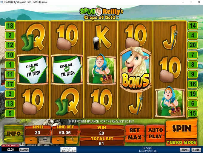 Betfred Casino Game 2