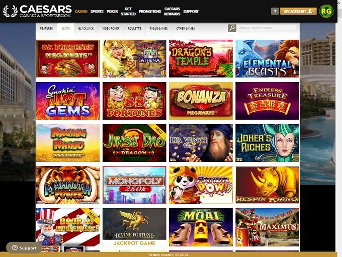 Caesars Casino Lobby