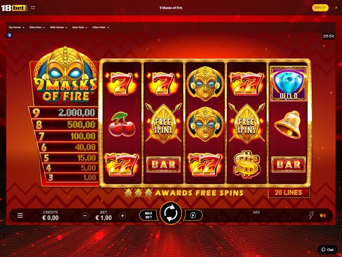 18Bet Casino Game1
