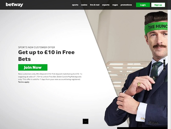 Betway Casino Hp