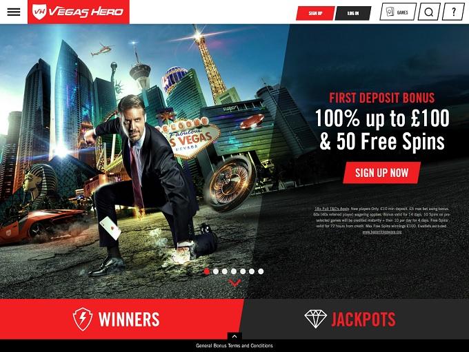 Vegas Hero Casino 15.12.2020 hp