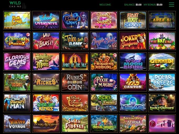 Go Wild Casino Sign Up