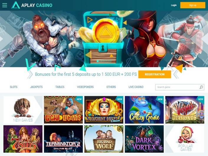 aplay casino зеркало