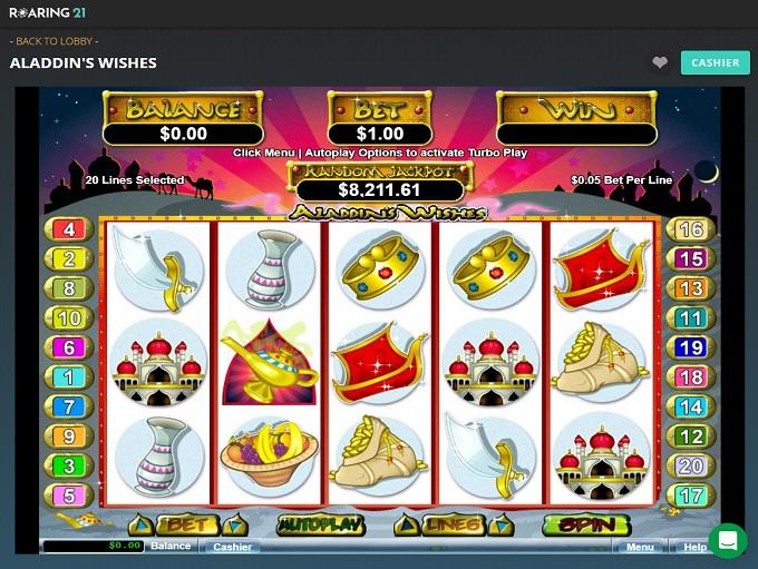Roaring 21 Casino New Game 2