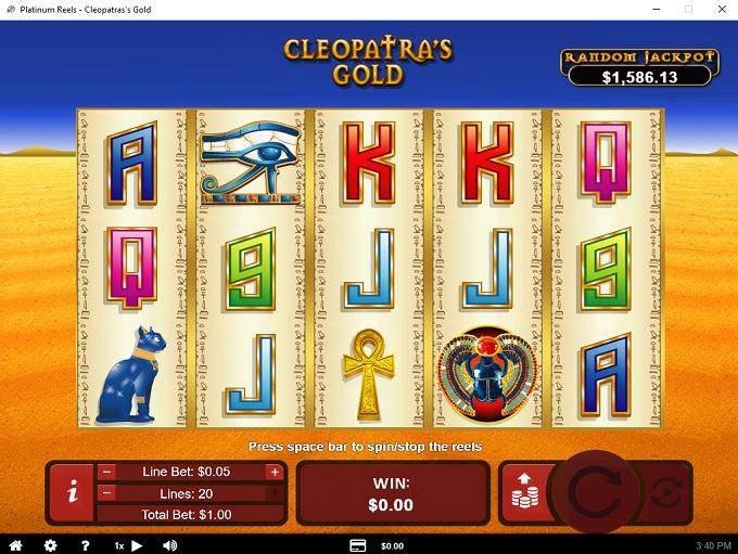 Platinum Reels Casino 19.03.2021. Game 2