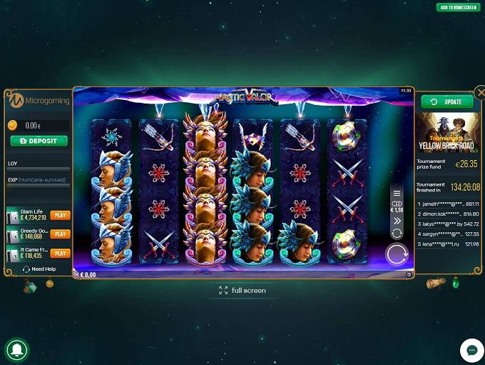 Titan spins casino