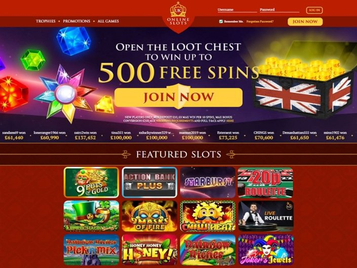 Online Casino Slot Uk