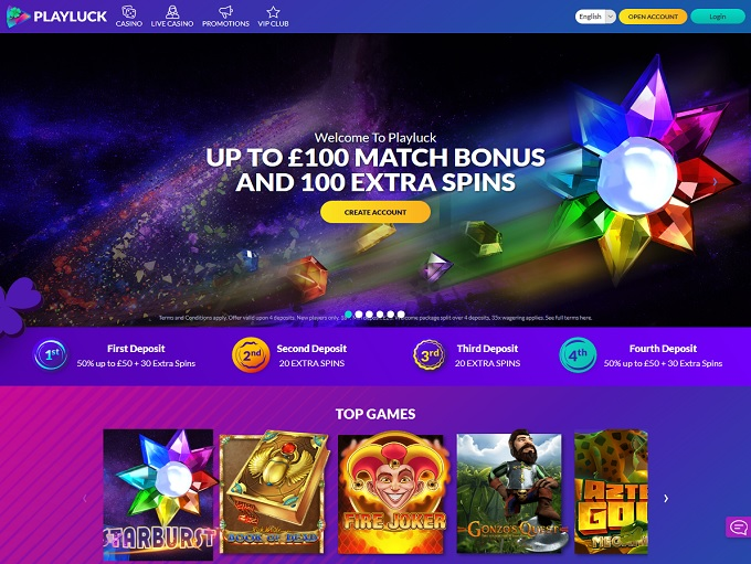Playluck Casino Review ᐈ 100 Up To 200