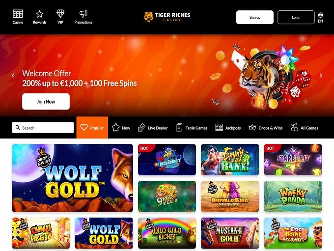 TigerRiches Casino 12.07.2021. hp