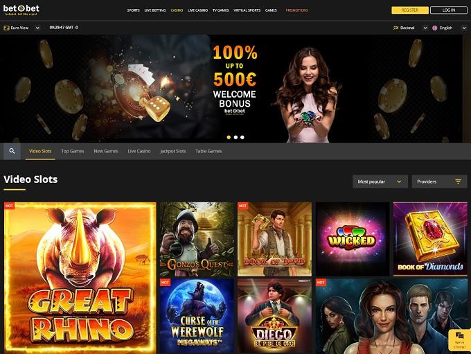 betObet Casino Hp