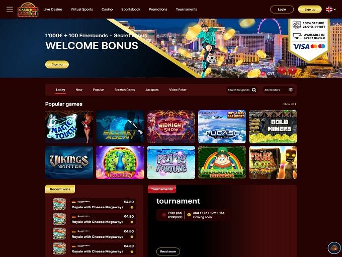 Casino2021Bet 31.08.2021. Hp