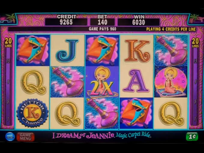 I Dream Of Jeannie Slots Game