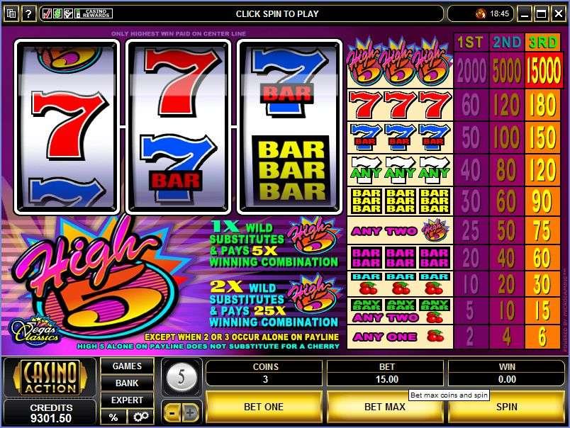 High 5 Games Slots
