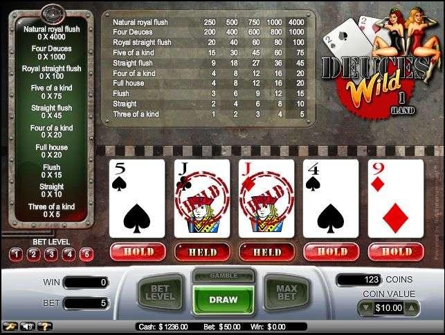 Spiele Deuces Wild (Rival) - Video Slots Online