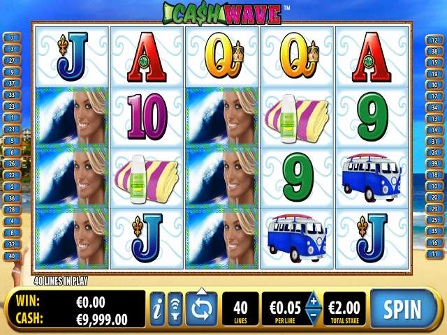 Cash Wave is a holiday themed slot that packs in the standard Bally graphics and features together with free games with a twist.See it in full here at Mr Gamez.5/5(3).Bolu