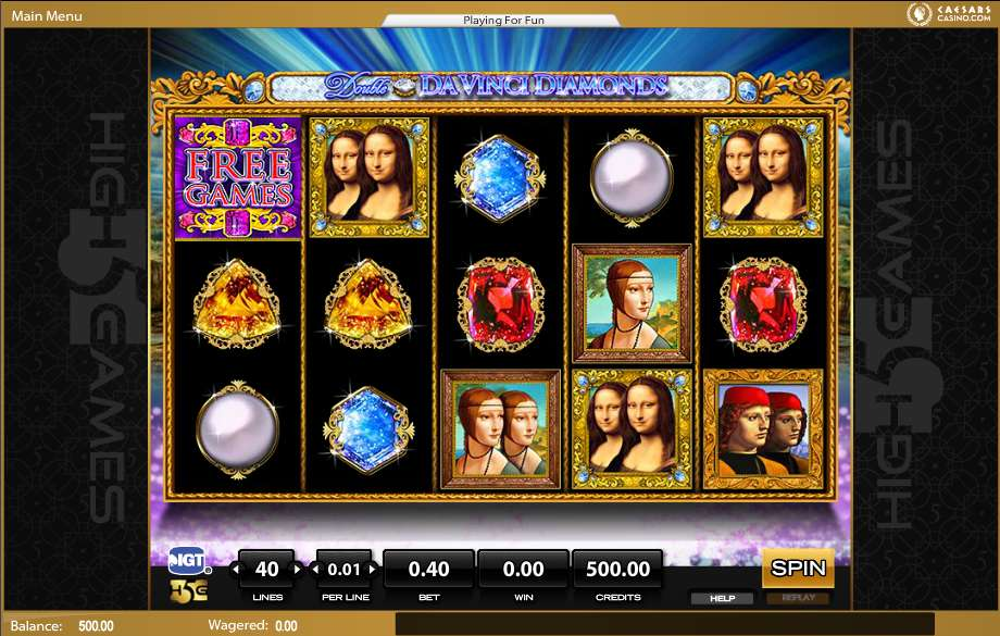 Davinci Diamonds Free Play