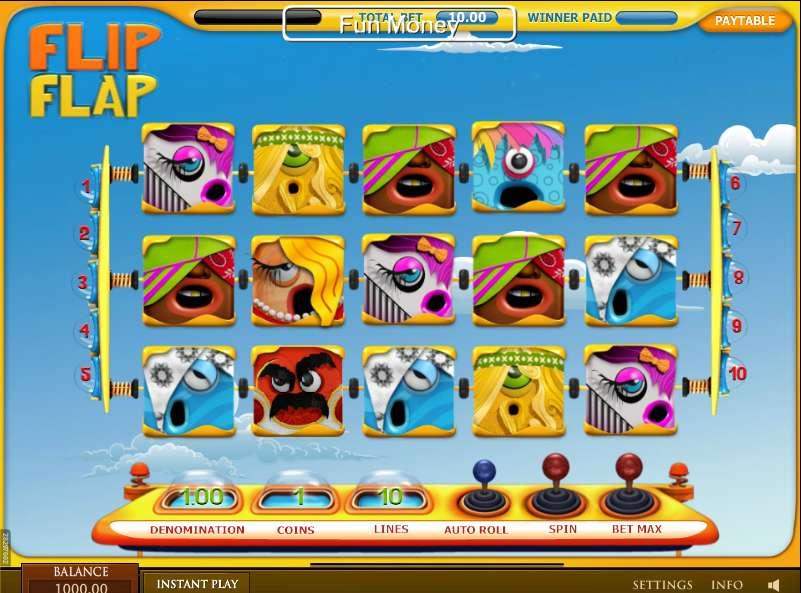 50 Free Spins On Flip Flap