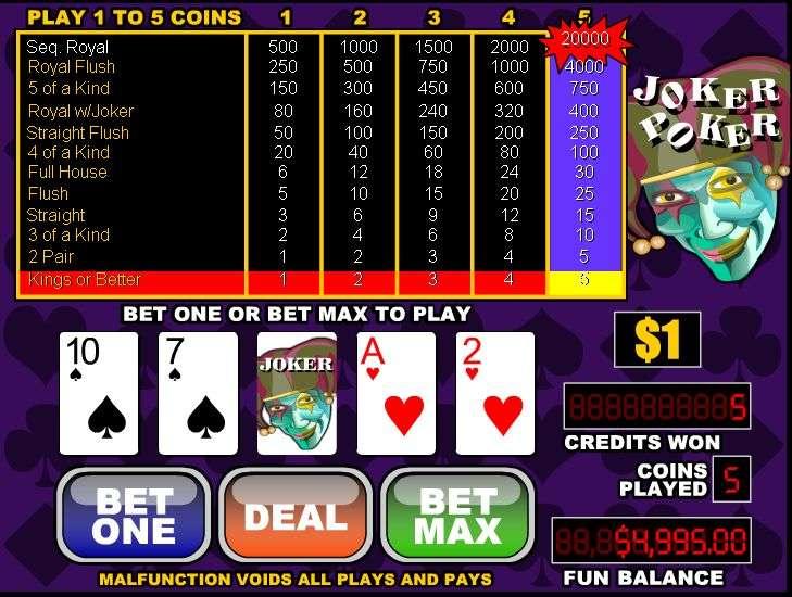 Spiele Joker Poker (Rival) - Video Slots Online