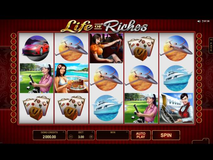 Image result for life of riches slot