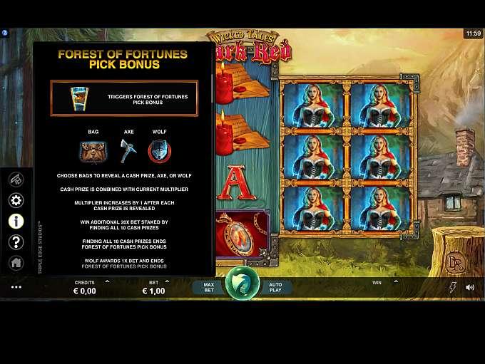 Spiele Wicked Tales: Dark Red - Video Slots Online