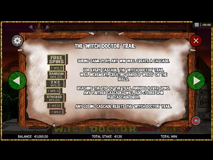 Spiele Witch Doctor Goes Wild - Video Slots Online