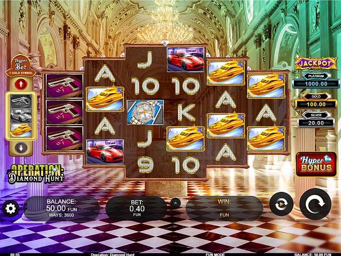 Spiele Operation Diamond Hunt - Video Slots Online