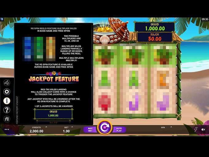 Spiele Tiki Mania - Video Slots Online