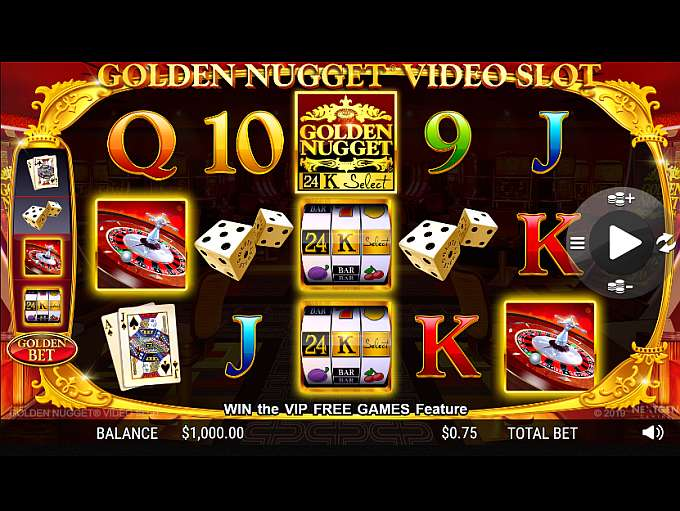 Golden Nugget Casino Game