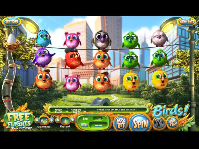 Review Birds on a Wire Slots with No Download