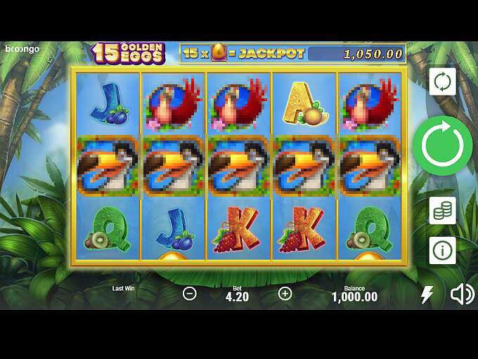 15 Golden Eggs Slot Machine