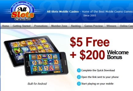 all slots mobile casino 5 free