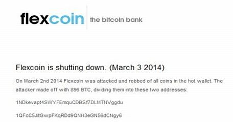 Flexcoin Closes Doors After Another Bitcoin Hack - Gambling