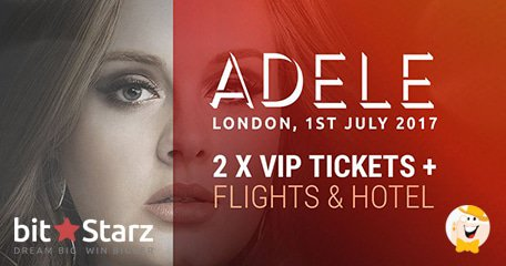 Play BitStarz to Win 2 VIP Tickets to See Adele at Wembley!