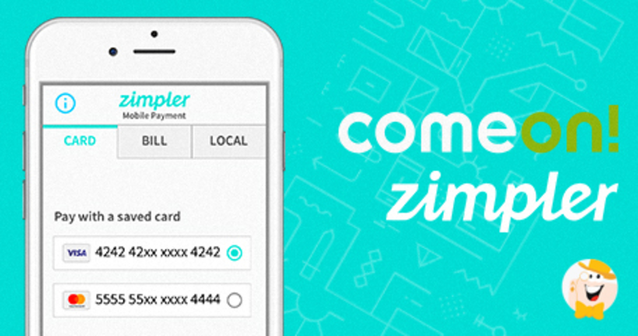 Zimpler Transaction Method Implemented at ComeOn Casino