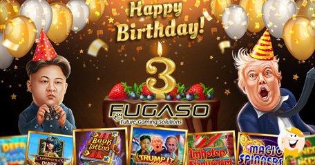 创新驱动的内容制作人Fugaso庆祝成立三周年