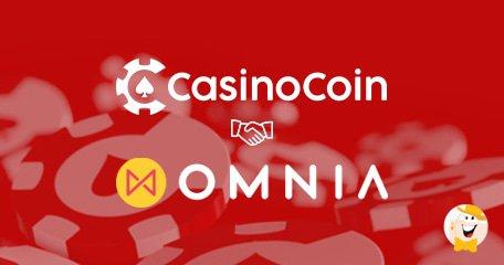 CasinoCoin与Omnia Casino达成令牌协议